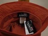 Kangol Cord Bucket / Fire Opal_