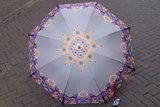 Catalina Estrada  paraplu BORDEAUX print_