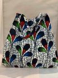 African Wax tas / shopper bag PEACOCK_