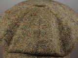 Ballonpet Stetson 'Hatteras' Silk/ Visgraat Naturel Gemeleerd_