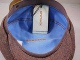 Ballonpet Stetson 'Hatteras' Silk  Visgraat bordeaux_