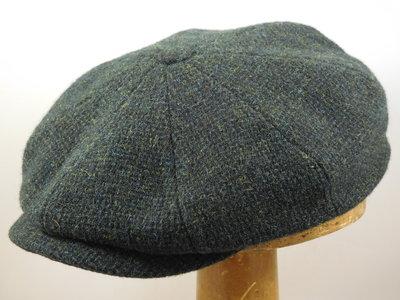 Stetson 'Hatteras' ruige tweed / groen