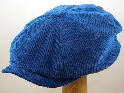 Stetson 'Hatteras' Corduroy / Blauw