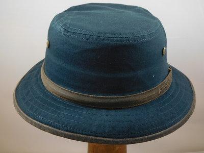 Stetson 'Bucket' hoed / blauw