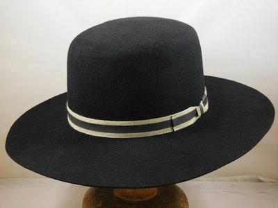 Stetson 'Amish' Premium Woolfelt / Black