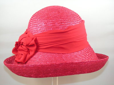 Seeberger Zomercloche Bandstro / Rood