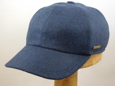 Hatland Baseball cap goretex met oorklep / jeansblauw