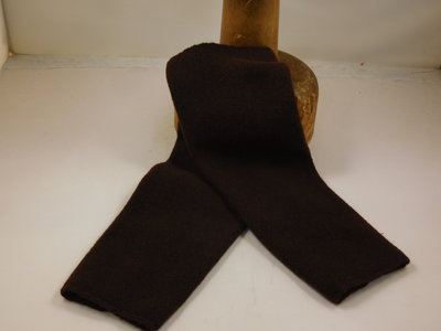 Kopka Wollen Armwarmers / Chocolate brown