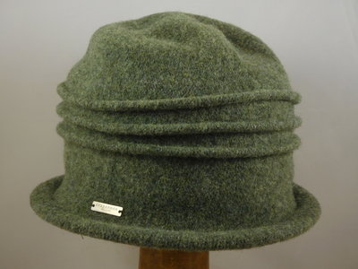 Seeberger cloche ribbels / khaki