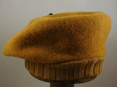Seeberger baret met rand / gold