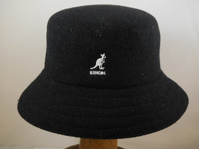 Kangol Lahinch Bucket Wol / zwart