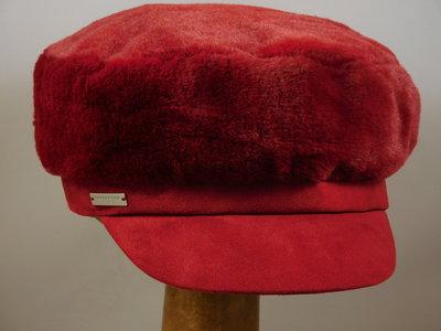 Seeberger Faux Fur Pet / wine red
