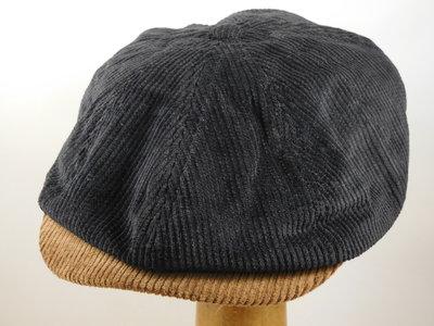 Brixton 'Brood' Cord zwart 2tone