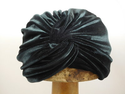 Sopratutto Turban Velvet / black