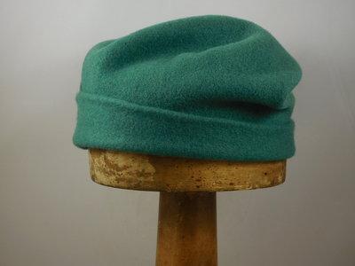 Kopka Roll up Baret Wolvilt / Malachite