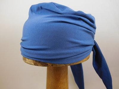 Fiebig zomer Bandana katoen blauw