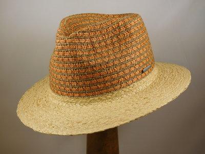 Stetson Traveller Viscose & Cotton / Taupe Oranje 72