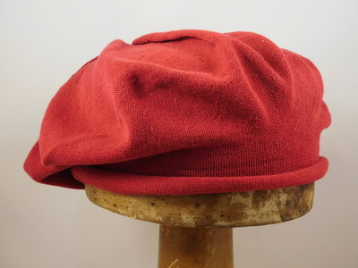 Seeberger Katoen Baret / Flame red