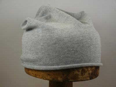 Seeberger Katoen Beanie / Smoke Grey