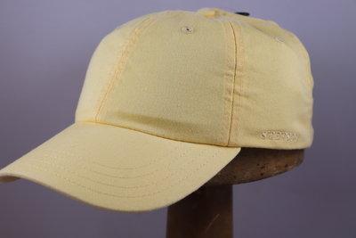 Stetson 'Rector' Cotton Baseballcap geel