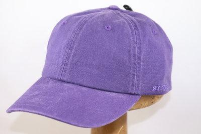 Stetson 'Rector' Cotton Baseballcap paars