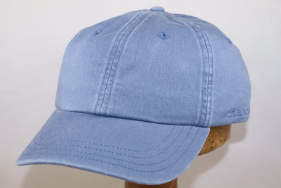 Stetson 'Rector' Cotton Baseballcap licht blauw