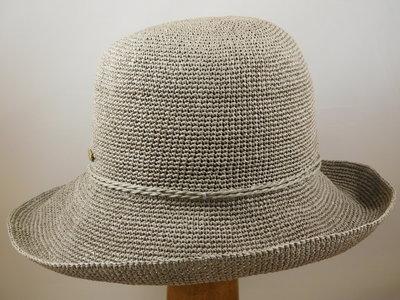 Bronte Crochet 'Saskia' grijs