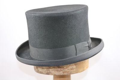 Baldini lage Hoge hoed zwart