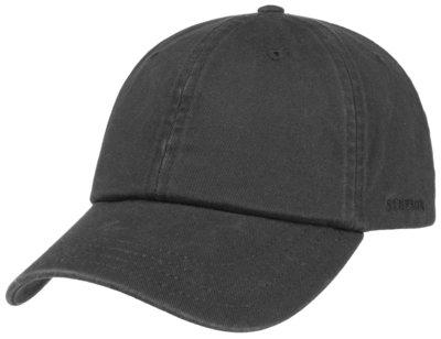 Stetson 'Rector' Cotton Baseballcap Zwart