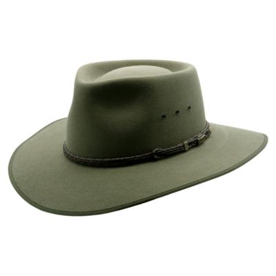Akubra 'Cattleman' Bluegrass Green