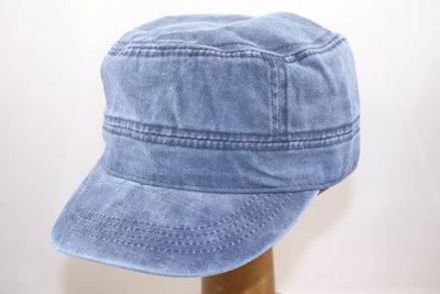 Fiebig army cap 'gewassen katoen' blauw