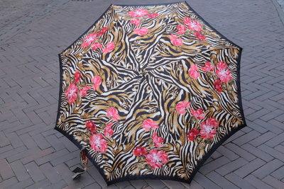 Ezpeleta Deluxe paraplu  TIJGER met ROZE