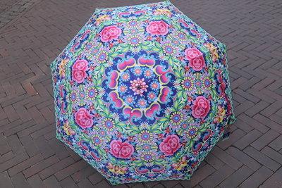 Catalina Estrada  paraplu  MAGENTA print