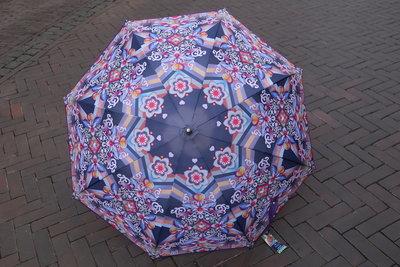 Catalina Estrada  paraplu  PURPLE print