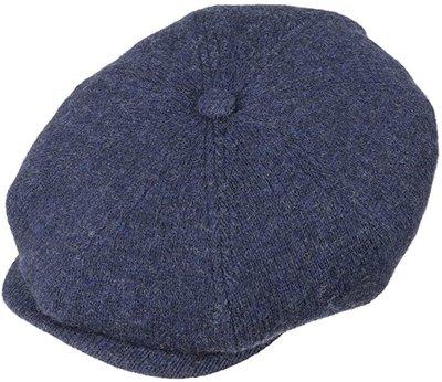 Stetson 'Hatteras' Wool Stripe/ Blauw Naturel