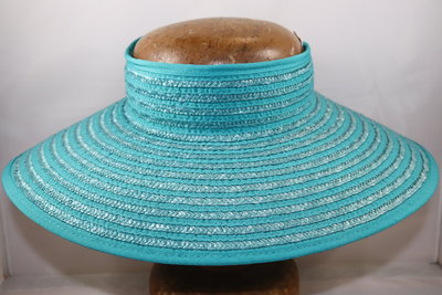 Seeberger zonnerand TURQUOISE