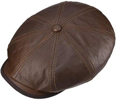 Stetson Hatteras Goatskin Leather / Bruin