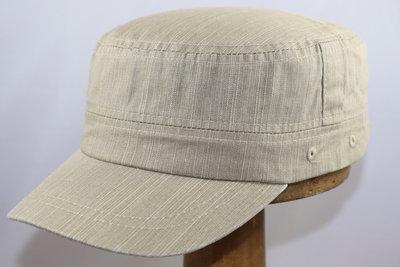 Hatland Okean Cotton Army Cap Khaki