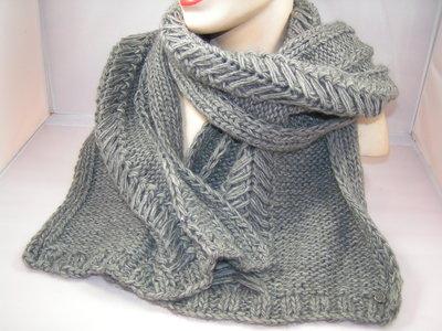 Seeberger sjaal grijs