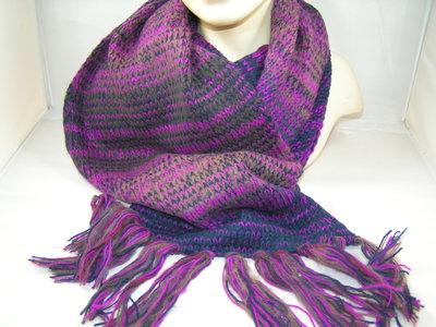 Seeberger sjaal multi color paars