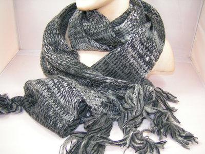 Seeberger sjaal multi color grijs