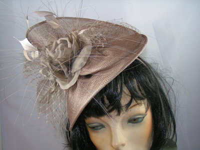 MADDOX TWISTED DISC TAUPE