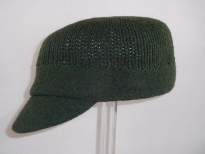 Seeberger dames sportpet stripe groen
