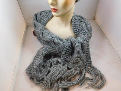 Seeberger sjaal kabel grijs