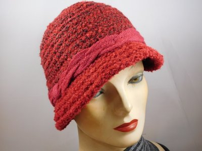 Hats&Dreams Cloche kabel rood