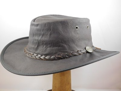 Barmah  'Old Roo' Brown Leather