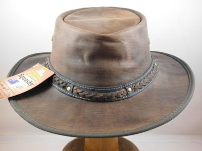Barmah 'Coopers Crossing' Brown Leather