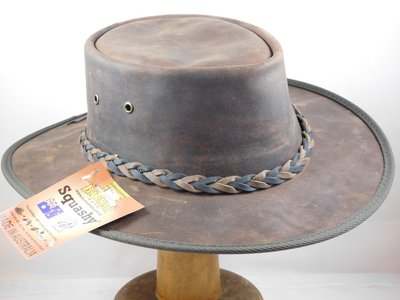 Barmah '2Tone band' Brown Leather