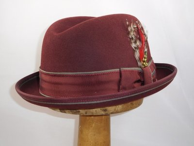 Stetson 'Homburger' Bordeaux
