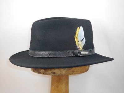 Stetson outdoorhoed 'Atlanta' zwart